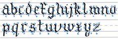 Resultado de imagen de gothic calligraphy tutorial