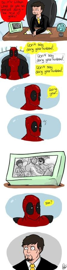 Spidypool<<<<<< I laughed way to much