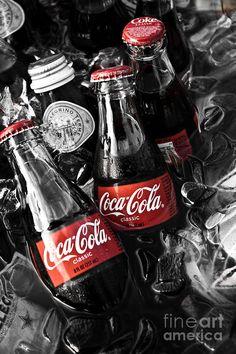 Coke Bottles Canvas Print / Canvas Art by Brenton Woodruff