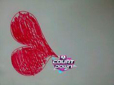 http://twitpic.com/cd1tvs  인피니트 컴백 M COUNTDOWN 최초 공개! 6시간 전! 하트를 받아랏! 호야군이 그린 하트 받고 M COUNTDOWN 본방사수!