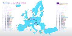 Le città capitali della cultura