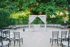VINTAGE CHIC OUTDOOR COUNTRY CLUB WEDDING