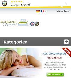 Matratzen-Universum Schweiz