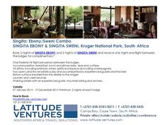 #Singita #SouthAfrica #Safari Honeymoon Deals, Kruger National Park, Lodges, First Night, South Africa, Safari, Travel, Ideas, Cabins