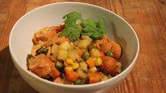 Vegetarian Stew, Chana Masala, Meat, Chicken, Terra, Ethnic Recipes, The Hunger, Veg Recipes, Ideas