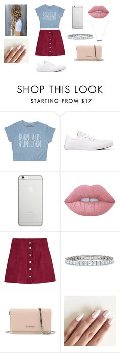"""When i met u in the summer!"" by norishaa on Polyvore featuring Converse, Native Union, Lime Crime, H&M and Givenchy"