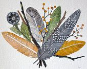 Watercolor Painting, Nature Art Print, Giclee Print, Archival Print - Spring Bundle