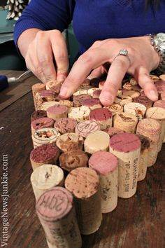 DIY Christmas Tree from Wine Corks