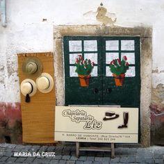 Porta do centro histórico de Leiria
