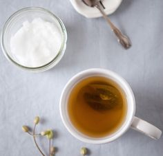 Place 1 T. Coconut oil in your hot tea to recover from cold symptoms.
