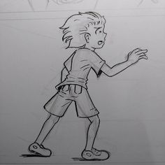 #comicpage #ink #traditional #sketchtember #boy