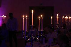 Kerzenlicht schafft Atmosphäre