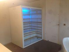 White design infrared sauna