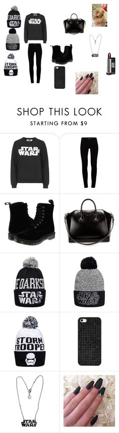 """""""Untitled #31"""" by allisonshaylyn ❤ liked on Polyvore featuring Topshop, J Brand, Dr. Martens, Givenchy and BaubleBar"""