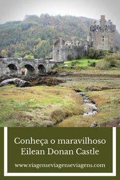 EILEAN DONAN CASTLE: é o castelo mais visitado da Escócia. Foi construído no século XIII, restaurado no século XX e já foi cenário em diversos filmes. #eileandonan #eileandonancastle #escocia #scotland #reinounido #unitedkingdom