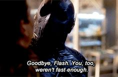 """A whole new world"" • lightcommasticks:   The Flash 2x06 - 'Enter Zoom' // this part still hurts my emotions"