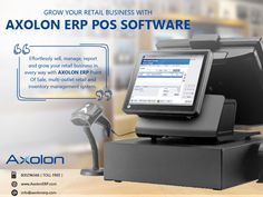 AxolonERP Retail POS Software is reliable and efficiently addresses your retail businesses. With this software, retailers of all sizes can manage their businesses easily - fulfilling today's requirements for modern business. For more details, you can call us on our toll-free number ☎ 800296566 or visit our website www.AxolonERP.com. #POS #PointOfSale #POSSoftware #POSSolution #POSERP #BillingSoftware #BillingSolution #BillingTools #BillingERP #RetailStores #RetailShop #RetailShopSoftware… Inventory Management, Business Management, Retail Pos System, Process Flow, Point Of Sale, Accounting Software, Day Work, Business Goals