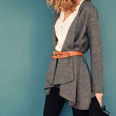Veste Eagle   Patron de couture du 34 au 48 #vanessapouzet #couture #veste