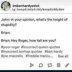 I Am A Queen, Save The Queen, Rainha Do Rock, Princes Of The Universe, Queen Meme, Funny Jokes, Stupid Memes, Queen Band, John Deacon