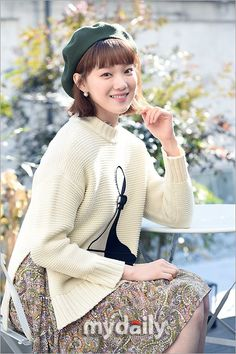 """[Interview] Part 1 - Lee Seong-kyeong, """"I was defensive when I was younger, I don't have a boyfriend now"""" Korean Actresses, Actors & Actresses, Weighlifting Fairy Kim Bok Joo, Joon Hyung, Lee Sung Kyung, Korean Star, Seong, Korean Model, Best Couple"""