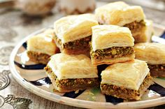 Pistachio Baklava Recipe for National Pistachio Day, February 26th