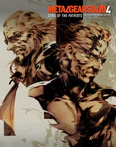 Limited Box Art, Metal Gear Solid 4: Guns of the Patriots