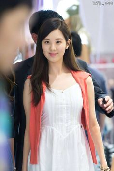 130728 Seohyun at 'Tommy Hilfiger' Fansign Event Sooyoung, Yoona, Snsd, South Korean Girls, Korean Girl Groups, Korean Beauty, Asian Beauty, Seo Hyun Jin, Pink Ocean