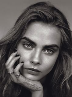 #CaraDelevingne by #AlasdairMcLellan for #VogueUK January 2014