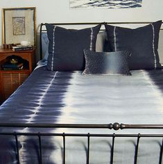 DefiningElegance.com presents Kevin O'Brien Studio Shibori Bedding.