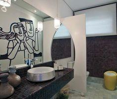 25 banheiros contemporâneos para inspirar!!