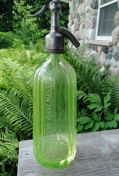 Vintage 1920s30s French Vaseline or Uranium by TheCalamityHouse, $85.00