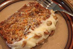 Banana & Carrot Cake : Halogen Oven Recipes