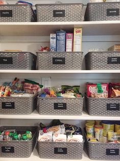 storage Basket for pantry organization