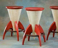 Rocket stools by Steve Holman