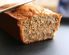 Omega-3 Banana Nut Bread : Not only does this banana nut bread use less sugar than a traditional recipe, it is loaded with heart-healthy omega-3s like flaxseed, walnuts, and chia seeds for a midday pick me up.   Source: Flickr User: annalibera