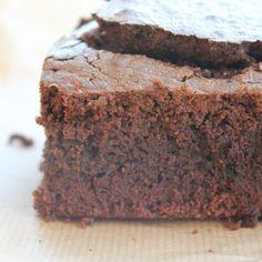 De beste gluten vrije brownie ooit! zo lekker zacht en smeuig. HEERLIJK!