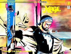Cover for Mage (Comico, 1984 series) #9
