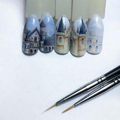 Nail Drawing, Manicure, Scenery, Nail Designs, Nail Art, French, Disney, Holiday, Fingernail Designs