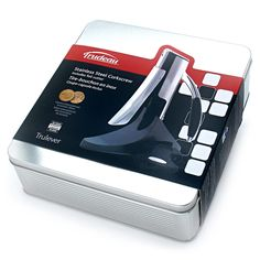 Trudeau Truelever corkscrew box ; Embalagem do saca-rolhas Truelever da Trudeau
