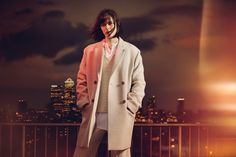 """Sam Rollinson is one of the guys in Jaeger London's fall-winter 2016 campaign. Photographed by Boo George, the top model wears tailored outerwear in the advertisements. Shot against the East London skyline, the brunette stunner looks sharp in boxy outerwear. """"I love Boo, he's so funny. He's super-chilled out and easy to be around,"""" says …"""