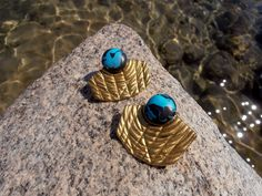 Polymer Clay Ancient Style Earrings