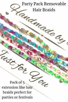 Festival season is coming! Grab yourself some removable hair braids and party in style. Hair Jewelry, Boho Jewelry, Name Keyrings, Pamper Party, Festival Accessories, 50th Party, Handmade Christmas Gifts, Friendship Gifts, Wedding Pins