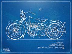 Harley davidson artwork   Harley-davidson Motorcycle 1928 Patent Artwork Digital Art - Harley ...