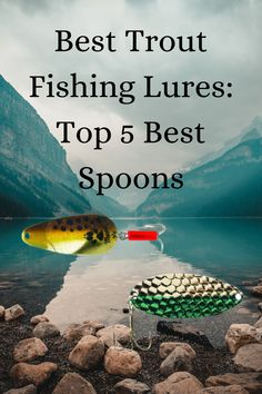 When it comes to trout fishing, simplicity is often the best choice. Spoons are among the simplest lures in the world, but they usually do the job. They are also cheap, meaning that they are a great option in areas with a lot of snags. We have drawn on all of our collective backcountry fishing experience to bring you this list of the top five best spoons for trout fishing. Best Trout Lures, Trout Fishing Lures, Best Fishing Lures, Gone Fishing, Fishing Tackle, Fishing Spoons, Cooking Fish, How To Cook Fish, Bait