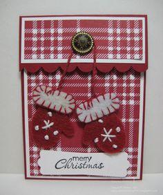 Mittens Gift Card Holder