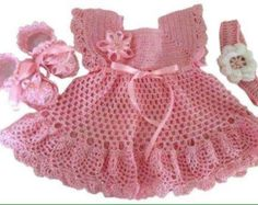 Crochet Pattern for Dress Tunic Top Baby von ThePatternParadise