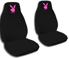 Playboy Bunny Car Seat Covers