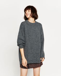 SOFT OVERSIZED SWEATER-Sweaters-KNITWEAR-WOMAN | ZARA United States