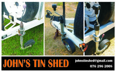 Jockey wheel replacement Tin Shed, How To Remove Rust, Plasma Cutting, 30 Years, Restoration