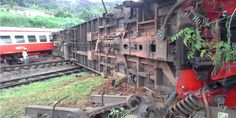 Deadly Train Crash in Cameroon Trains, Bus, Training, News, White Dress